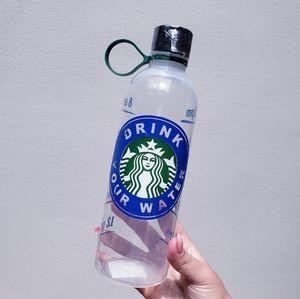 Starbucks plastic custom water log water bottle